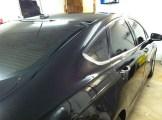 Black Car After Car Window Tinting