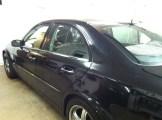 BLK Mercedes Before Window Tint