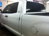 White Tundra After Window Tuinting