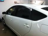 Prius White After Auto Window Tinting