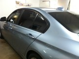 Blue Beemer After Specialty Tinting