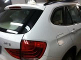 BMW X1 Before Auto Window Tinting