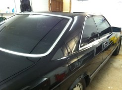 Mercedes 560 SEC After Mobile Auto Window Tinting