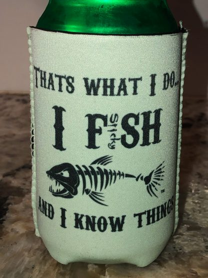 I Fish and I know Things Can Hugger (mint)