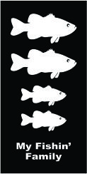 Family Fish Largemouth Bass Decal