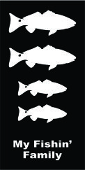 Family Fish Red Fish Decal