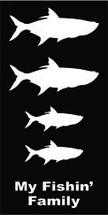 Family Fish Tarpon Decal