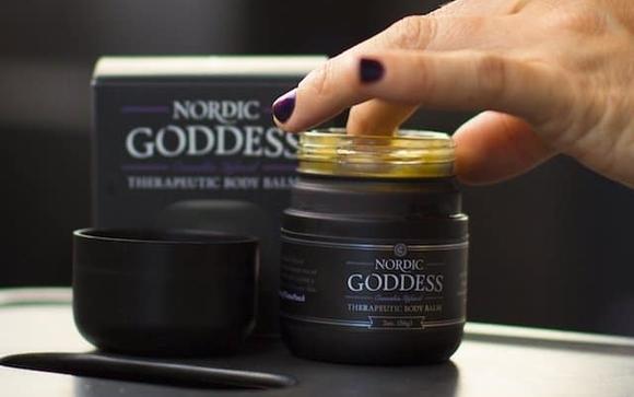 nordic goddess cannabis body balm