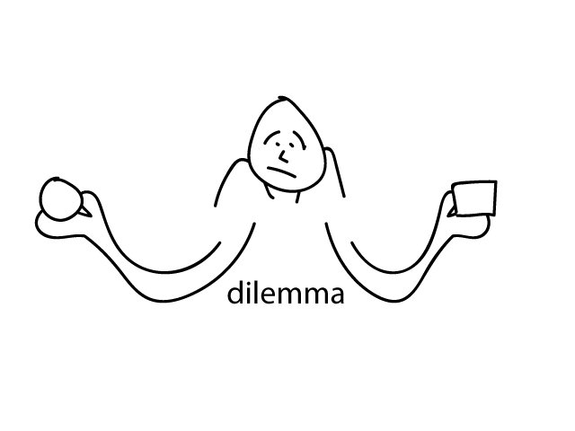 D is for . . . dilemma