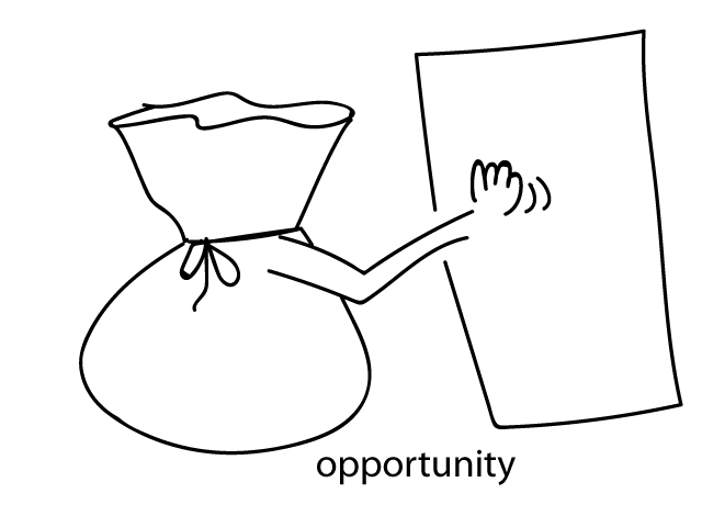 O is for . . .opportunity