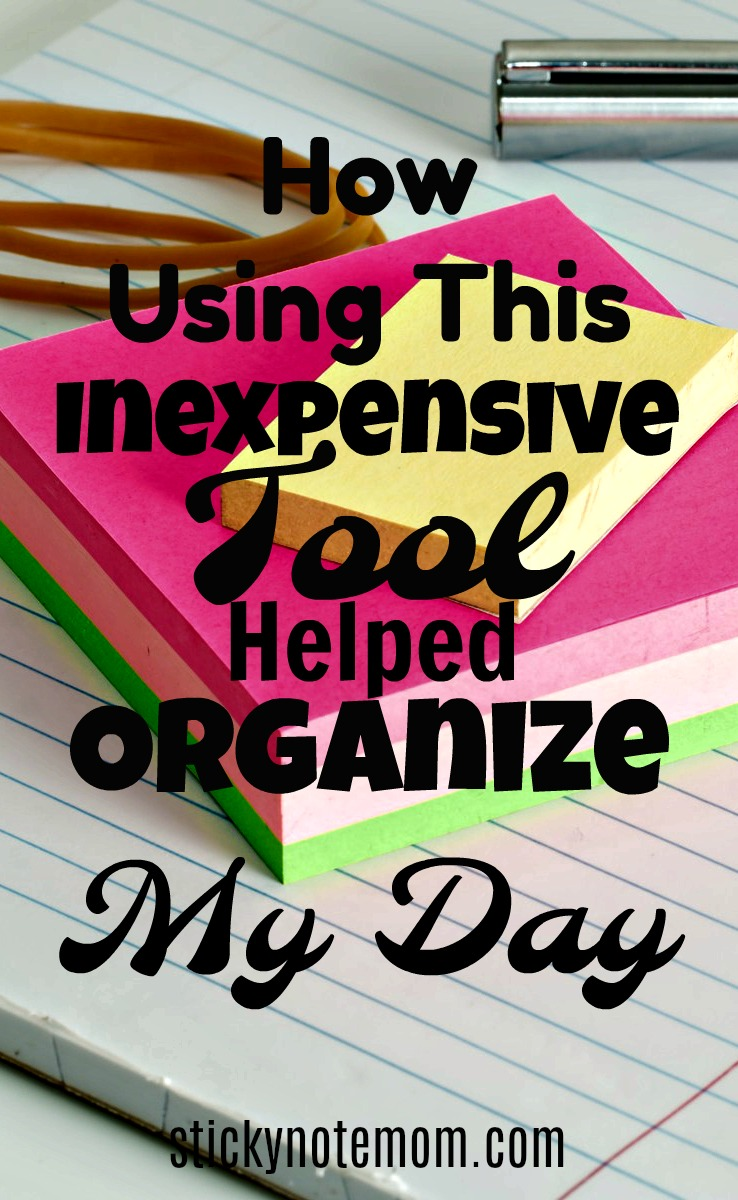 Help Organize Your Day with this Inexpensive tool