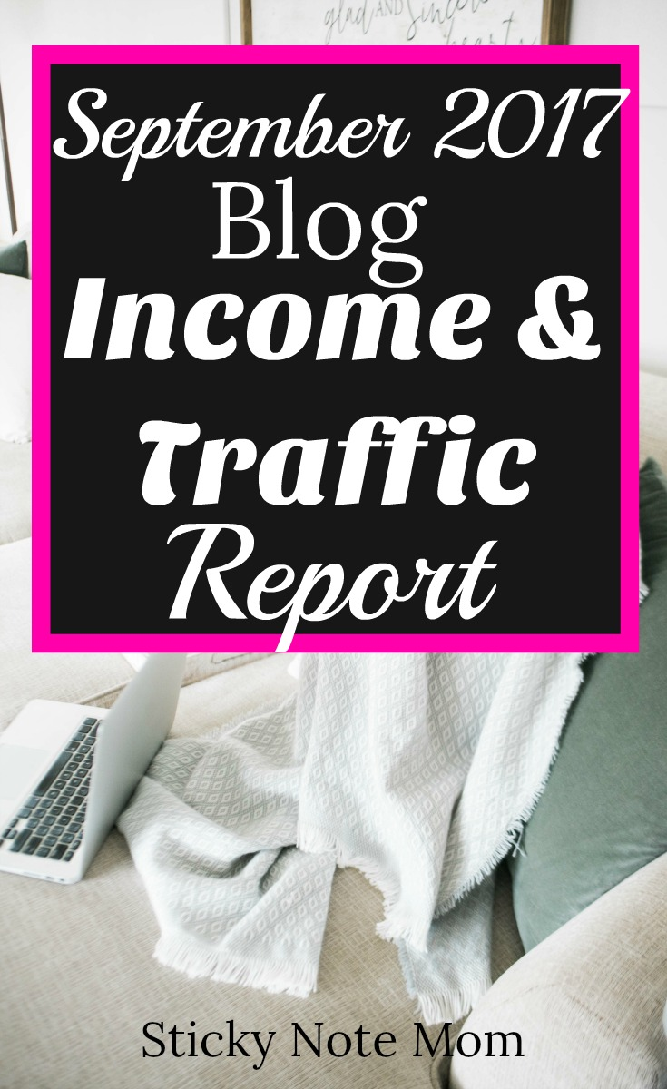 My First Blog Income and Traffic Report.