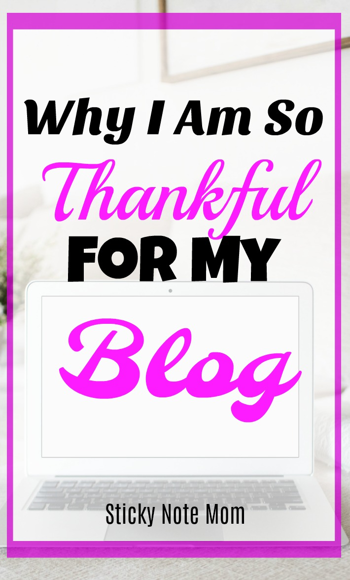 Thankful for my Blog and the creative outlet it brings