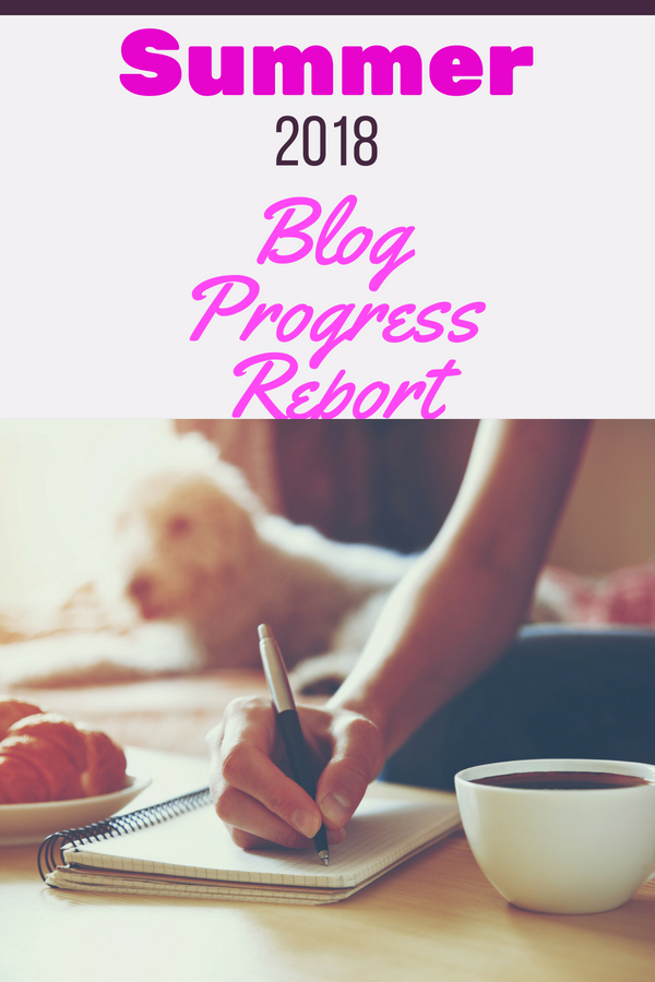 This Summer Progress Report explains exactly what happened to my blogs traffic and income. Blogging isn't for the faint of heart. Despite the summer chaos, I have a plan and share just a few pieces with you for your blogging journey.