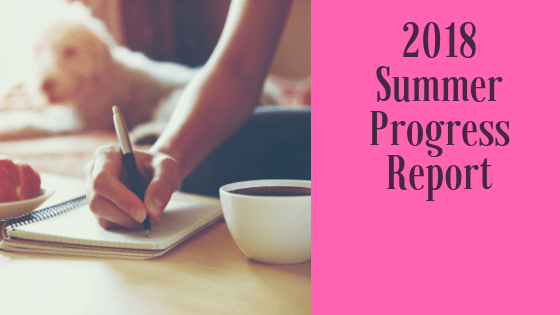 The Summer of 2018 was life changing. This Progress Report gives you all the details of how my blog hit rock bottom.