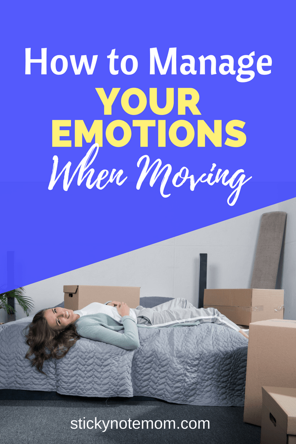 Moving is so stressful. Sometimes its hard to keep your emotions balanced when moving. #moving