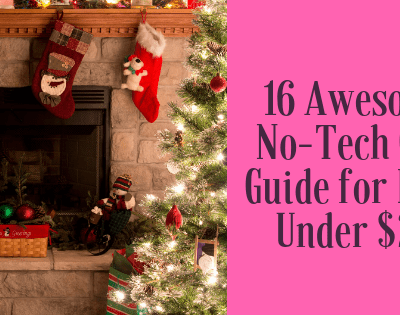 16 Awesome No-Tech Gift Guide for Boys under $20