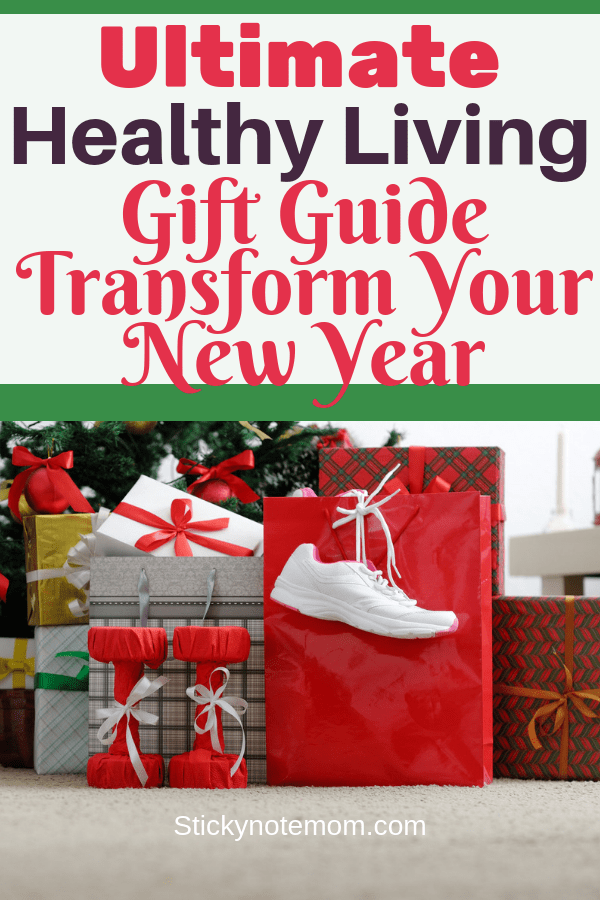 This holiday get your healthy living gift guide. These gift ideas for him or for her will help them stay on track with healthy living at Christmas and in the New Year.