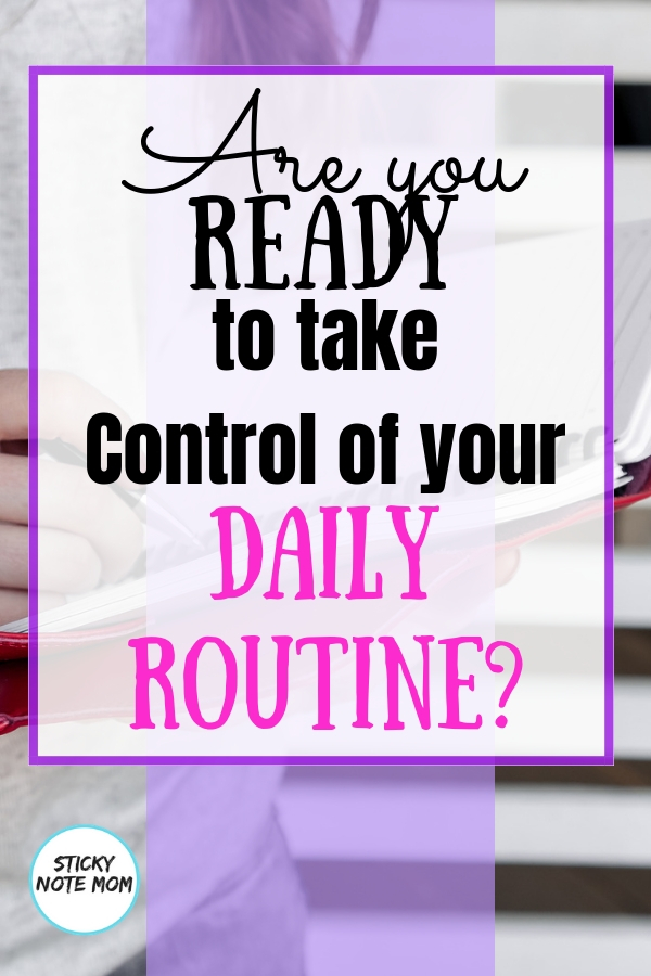 When you have a traveling husband, creating and sticking to a daily routine will help with the daily chaos. These quick tips and daily routine printable will help you organize and plan your day. #dailyplan