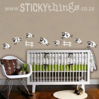Sleep Sheep Baby Room Wall Sticker | Sticky Things Wall ...