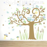 Owl Tree Giant Wall Sticker South Africa  Sticky Things ...