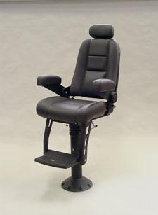 High Back Admiral Seat  Luxury Helm Chair  STIDD