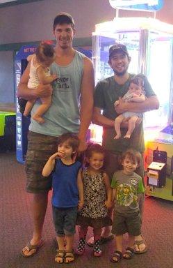 Zach, Elijiah and the kids