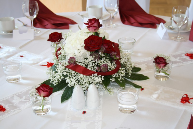 Romantisch rot