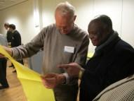 PUDEMO President Mario Masuku inspects Danish municipal elections