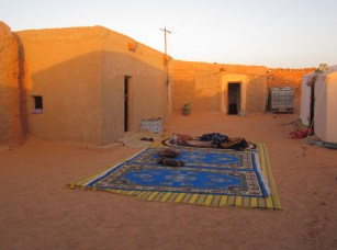 Homestead in Tindouf refugee camps