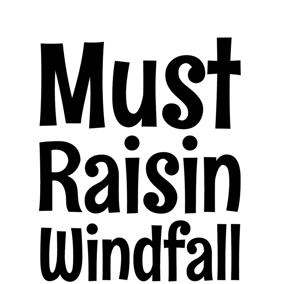 Rum Raisin Pro font waterfall 1