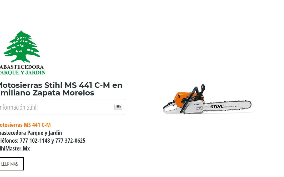 Motosierras Stihl MS 441 C-M en Emiliano Zapata Morelos
