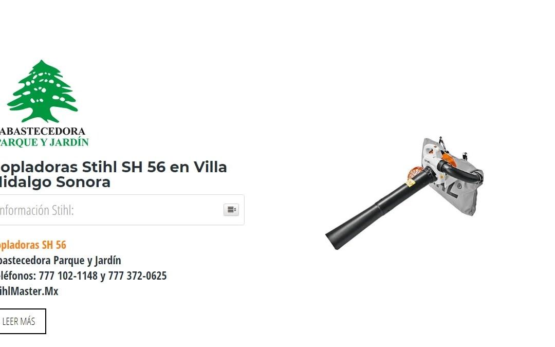 Sopladoras Stihl SH 56 en Villa Hidalgo Sonora