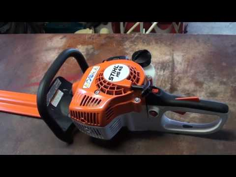 Stihl HS 45 Hedge Trimmer Review