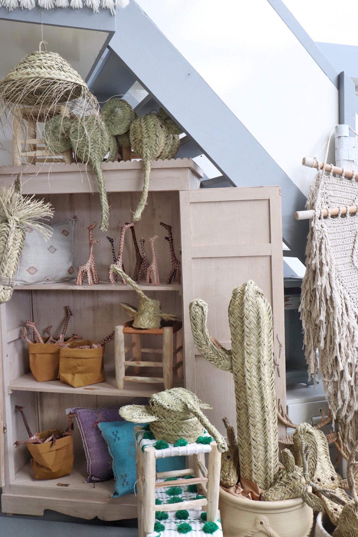 Zeegras producten in deze interieur hotspot