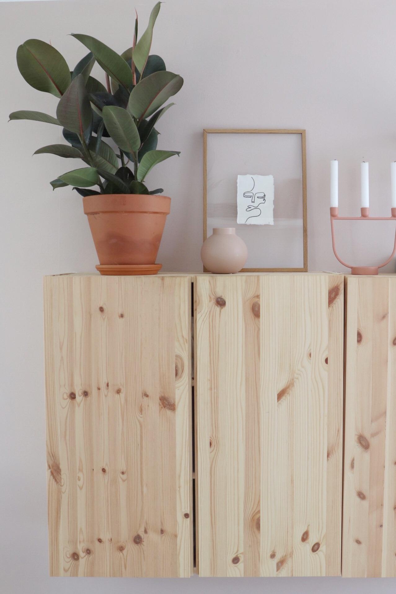 Voeg een ficus (rubberplant) in de woonkamer toe voor sfeer en om een make-over aan de woonkamer te geven
