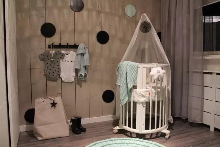 Interieur  kids  Mintgroen  Babykamer Kinderkamer