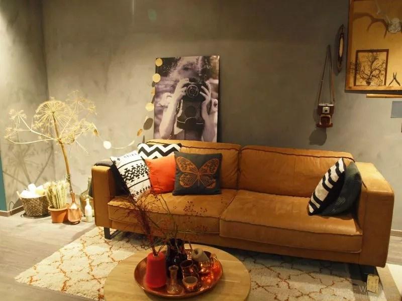 Interieur  Woonkamer inrichten in de stijl robuust