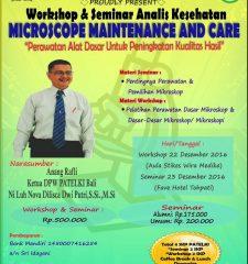 Seminar dan Workshop Analis Kesehatan