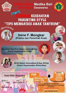 Seminar Mengatasi Anak Tantrum