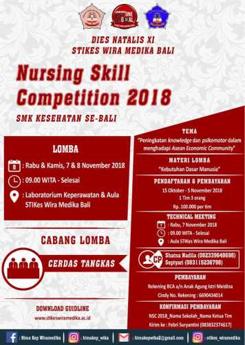 Nursing Skill Competition 2018 SMK