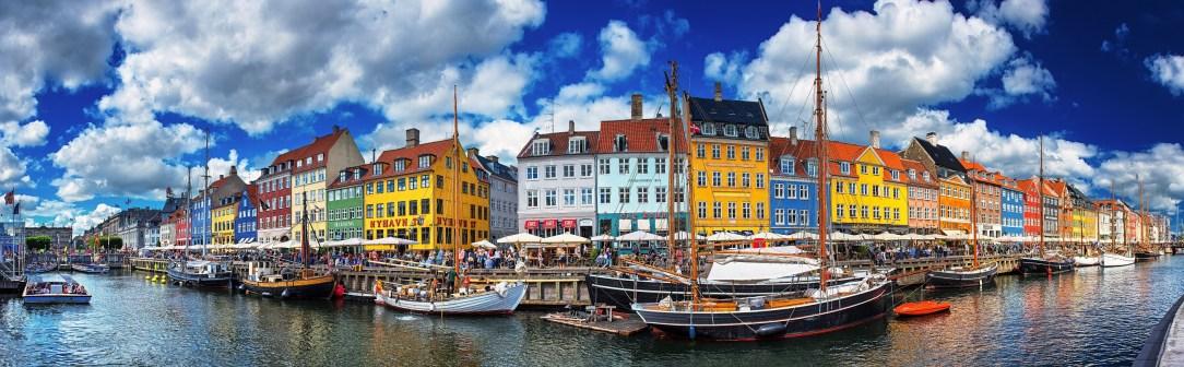 Panorama Nyhavn båter