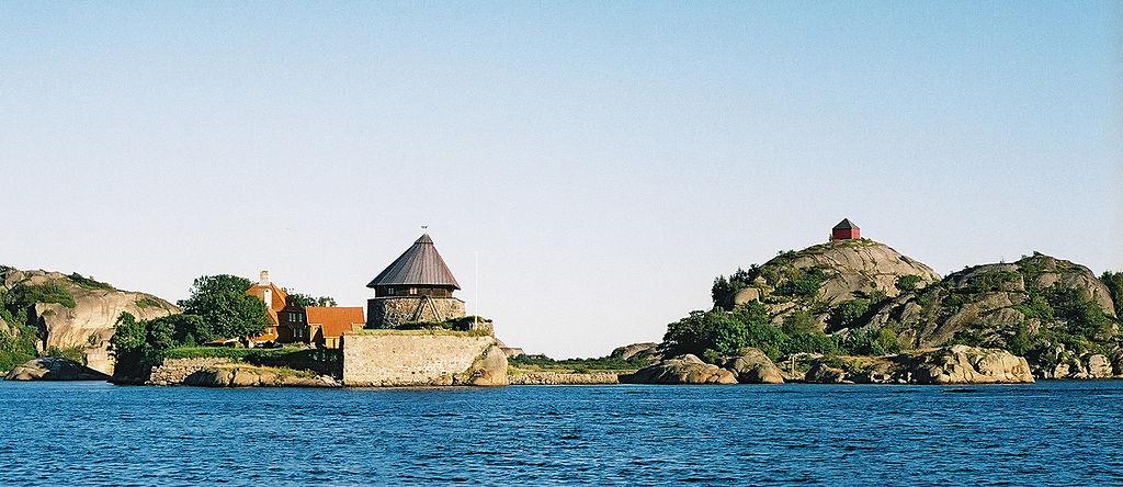 Stavern Fort på Citadelløya i Vestfold