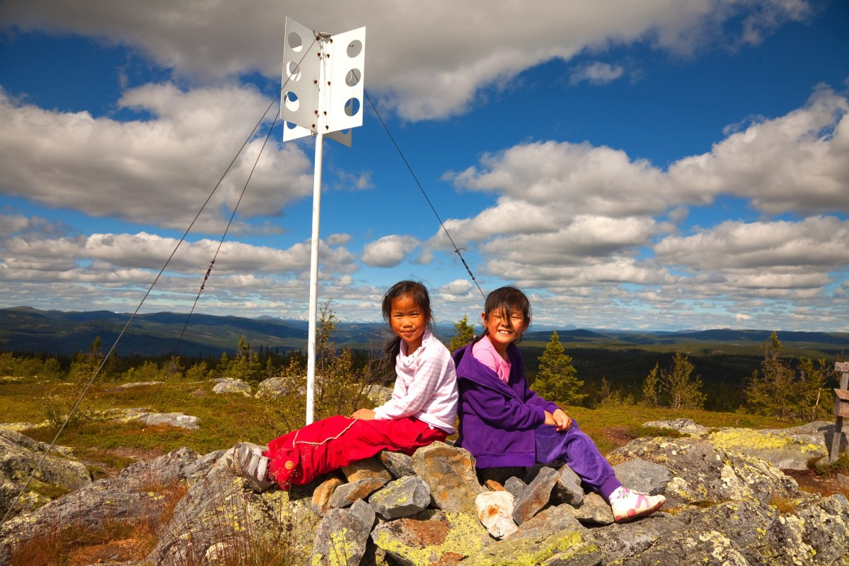 To jenter på Dalavardin