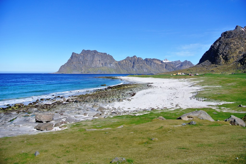 Strand i Lofoten