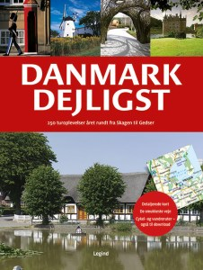Danmark bok forside kart verdenskart