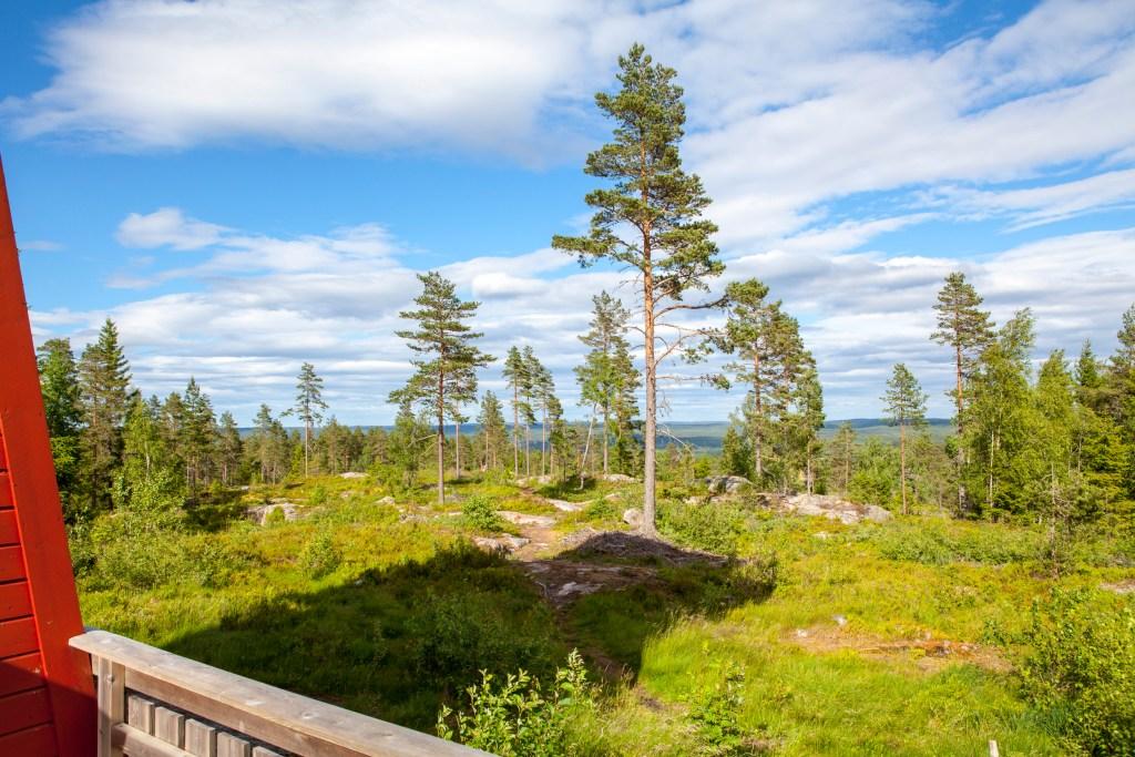 Utsikt branntårn Rømskog Østfold