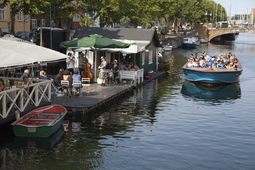 kanalbåt København Danmark