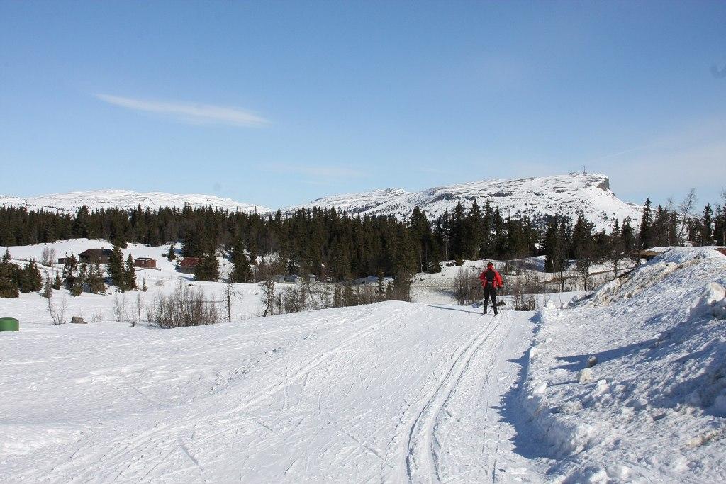 Skeikampen vinter ski snø