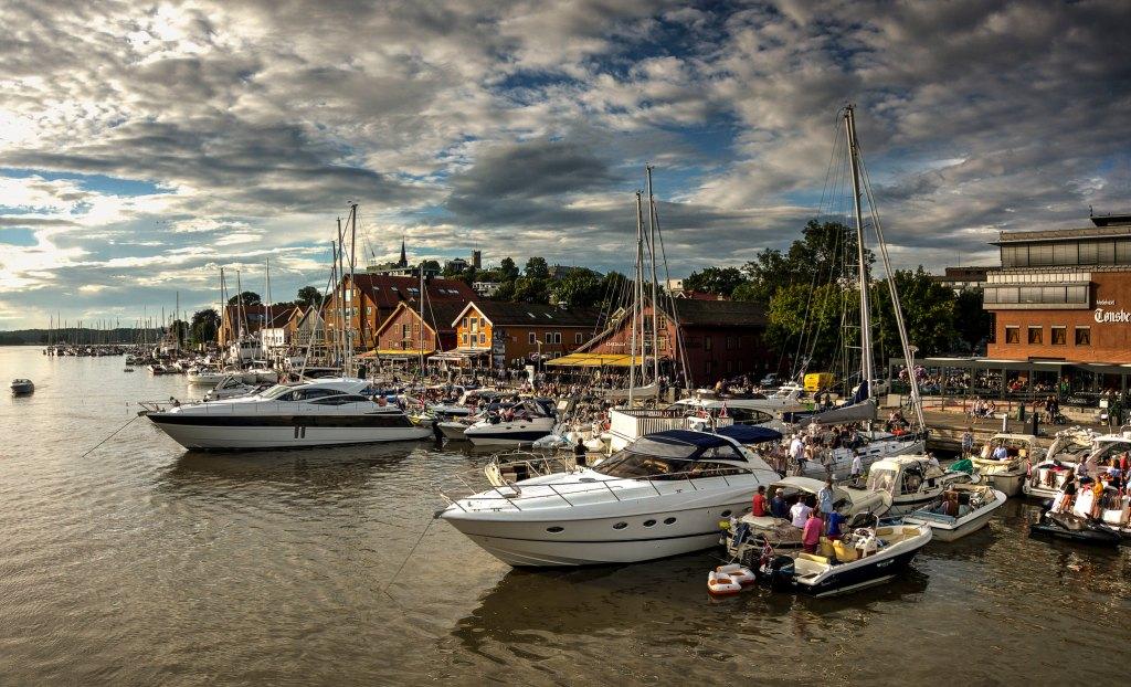 Tønsberg havn i Vestfold